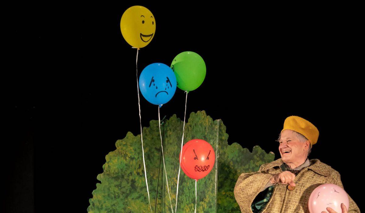 BoBos ballonger (från 3 år) Pantomimteatern