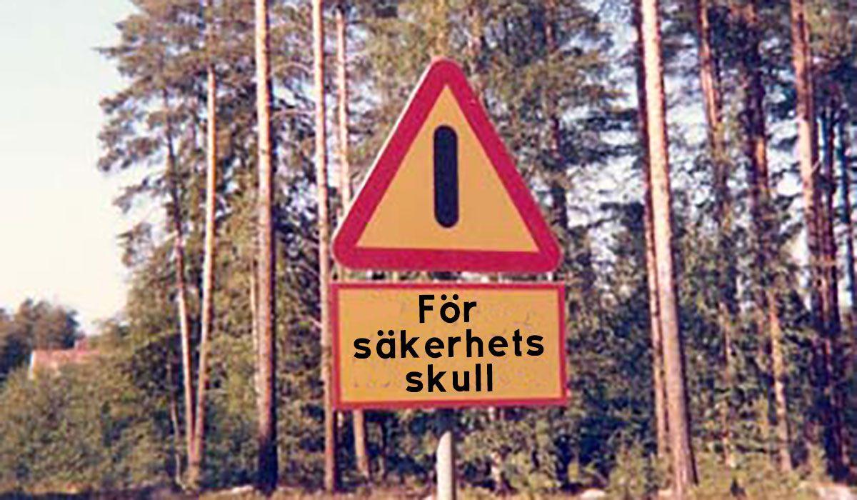 För säkerhets skull (årskurs 1-5)